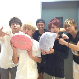 Da-iCEロゴ入りクッション(ブルー)【LIVE TOUR 2014 -PHASE 3-】