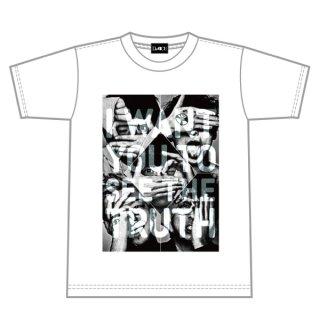 GET REAL Tシャツ(Da-iCE全メンバーホワイトVer.)