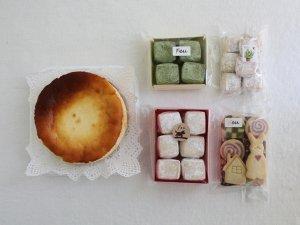 ミニチーズケーキ&クッキー4種