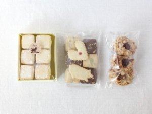 定番 クッキー3種