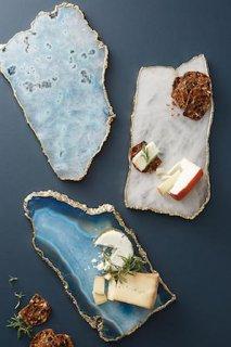 Agate Cheese Board 天然石とゴールドのチーズボード