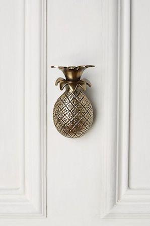 Pineapple Greetings Doorknocker パイ...