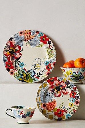 Sissinghurst Castle Dinner Plate ディナープレート・サイドプレート・マグ・ボウル 4点セット