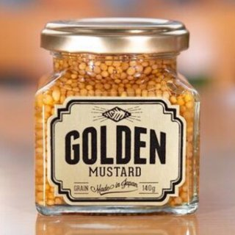 【TV放映】ゴールデンマスタード・ゴールド 140g ※注文が殺到しておりますので、順次発送となります(ただ今、8月以降予定)