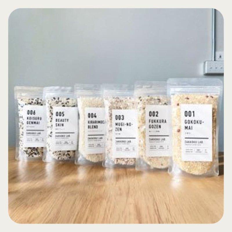 ZAKKOKU LAB. 国産6種の雑穀米食べ比べセット