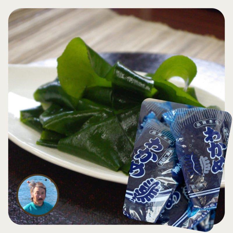 【販売中】佐野さんの復興三陸ワカメ 500g(クール便)