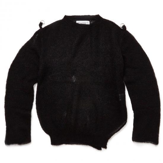 damaged mohair jumper