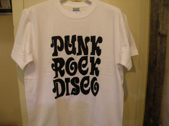 PUNK ROCK DISCO TEE