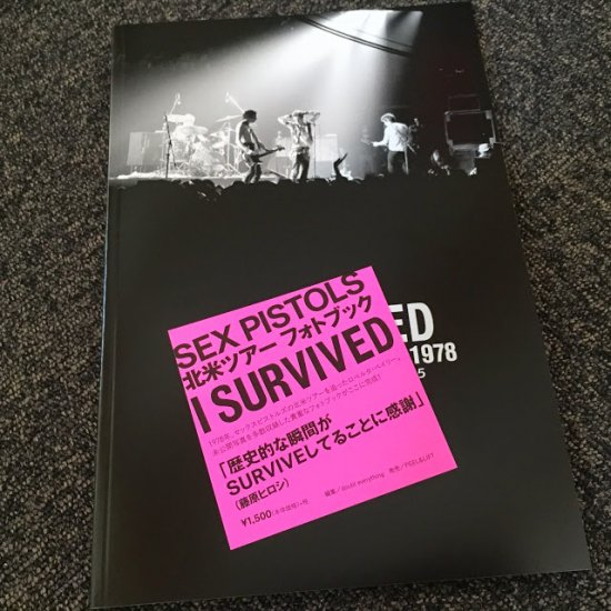 I SURVIVED FIRST AMERICAN TOUR 1978 Roberta Bayley Photo Book 2015