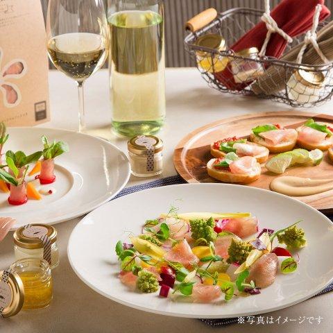 Petalo di mare 〜もちもちまぐろの生ハムセット〜(5シート入り)