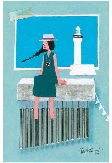 灯台メルヘンポストカードセット(6種)