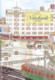 60'KOBE  市電の走る風景ノート02  (青)