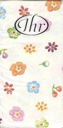 小さい花 スタンプ風/21.5cm角/ポケットペーパーハンカチ・紙ハンカチ/ミニペーパーナプキン