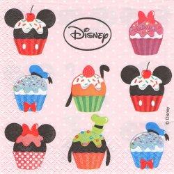ディズニー カップケーキ 1枚 バラ売り 33cm ペーパーナプキン Disney