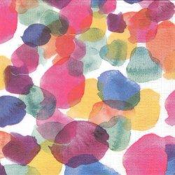 Aquarell Dots 水彩ドット ウォーター・カラー Strehlow 1枚 ばら売り 33cm ペーパーナプキン デコパージュ