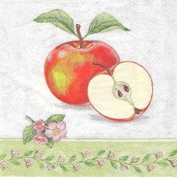 APPLE BLOSSOM シーズン・フルーツ アップルブラッサム 林檎 1枚 バラ売り 33cm ペーパーナプキン デコパージュ 紙ナプキン Ambiente