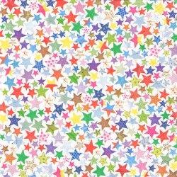 廃盤 Colourful Stars カラフル・スターズ 星  1枚 バラ売り 33cm ペーパーナプキン デコパージュ 紙ナプキン Paper+Design