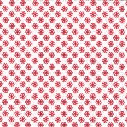 廃盤 CUTE PATTERN ホワイトレッド キュート・パターン 小さなお花 1枚 ばら売り 33cm ペーパーナプキン デコパージュ 紙ナプキン Ihr