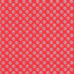 廃盤 CUTE PATTERN レッド キュート・パターン 小さなお花 1枚 ばら売り 33cm ペーパーナプキン デコパージュ 紙ナプキン Ihr