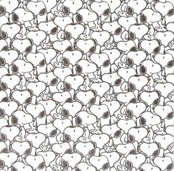 廃盤 1枚 スヌーピー ぎっしり 21.5cm角 ポケットペーパーハンカチ・紙ハンカチ ミニペーパーナプキン デコパージュ peanuts