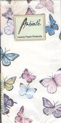 バタフライ 蝶 21.5cm角/ポケットペーパーハンカチ・紙ハンカチ/ミニペーパーナプキン