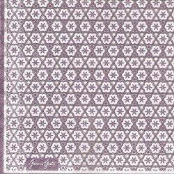 北欧 25cm 廃盤 グリーンゲート 花の紋様 パープル 1枚 バラ売り ペーパーナプキン デコパージュ GREEN GATE
