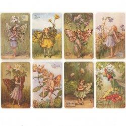 花の妖精 フラワーフェアリーのステッカー シシリー・メアリー・パーカー シール 8種1セット