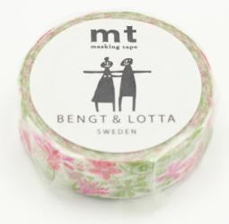 mt ベングト&ロッタ alma・pink ピンク マスキングテープ KLIPPAN 北欧