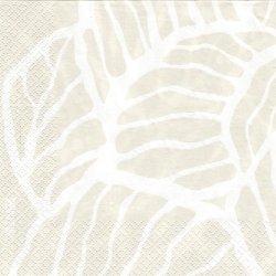 北欧 ペンティック VALO 葉っぱ ベージュ ペーパーナプキン 33cm 1枚 デコパージュ用 バラ売り 紙ナプキン PENTIK
