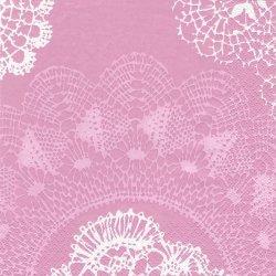 北欧 ペンティック NOSTALGIA ピンク ペーパーナプキン 33cm 1枚 デコパージュ用 バラ売り 紙ナプキン PENTIK