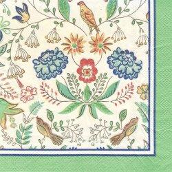 モリスの時代 Arts & Crafts 1枚 バラ売り 33cm ペーパーナプキン デコパージュ 紙ナプキン Ulster Weavers