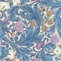廃盤 ウィリアム・モリス DEARLE LEICESTER レイチェスター ブルー 1枚 ばら売り 33cm ペーパーナプキン William Morris Ihr