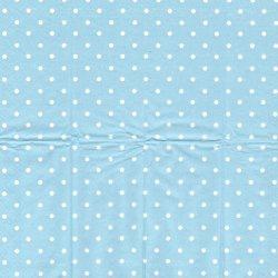 キャス・キッドソン 水色ドット 水玉 21.5cm角 ポケットペーパーハンカチ 紙ハンカチ デコパージュ用 バラ売り Cath Kidston