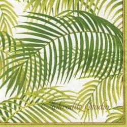 UNDER THE PALMS パーム椰子 ニューヨーク植物園 1枚 ばら売り 33cm ペーパーナプキン Caspari カスパリ