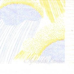 25cm 点と線模様研究所 どしゃぶり 北の模様帖 倉敷意匠計画室 1枚 バラ売り ペーパーナプキン デコパージュ用  classiky