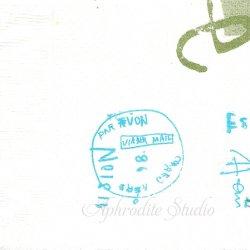 25cm 井上陽子 グラフィティC・白 倉敷意匠計画室 1枚 バラ売り ペーパーナプキン デコパージュ用  classiky