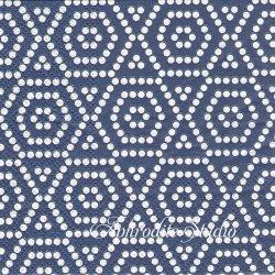 21.5cm角 Mosaic ネイビー モザイク 1枚 バラ売り ミニペーパーナプキン コースター デコパージュ ULSTER WEAVERS