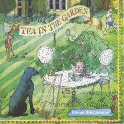 エマ・ブリッジウォーター TEA IN THE GARDEN お庭でお茶 Emma Bridgewater 1枚 バラ売り 33cm ペーパーナプキン デコパージュ Ihr