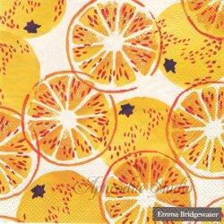 エマ・ブリッジウォーター MARMALADE マーマレード オレンジ Emma Bridgewater 1枚 バラ売り 33cm ペーパーナプキン デコパージュ Ihr