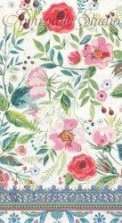 33x40cm WILD BERRY BLOSSOM ピンクの花 1枚 バラ売り ペーパーナプキン デコパージュ MICHEL DESIGN WORKS