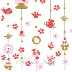 めでた飾り 和柄 1枚 バラ売り 34cm ペーパーナプキン 和ファッションペーパー 表現社