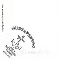 25cm 北欧 非売品 グスタフスベリ GUSTAFSBERG 1枚 バラ売り ペーパーナプキン