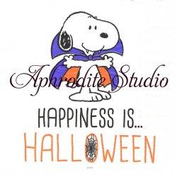 スヌーピー ハロウィン HAPPINESS IS HALLOWEEN バンパイア SNOOPY キャラクター 1枚 バラ売り 33cm ペーパーナプキン デコパージュ Peanuts