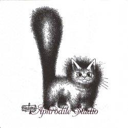 アルバート・ダブアウト DUBOUT CHAT MIGNON しっぽボワッと猫 キャット CAT フランス 1枚 バラ売り 33cm ペーパーナプキン デコパージュ Albert Dubout