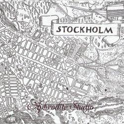 40cm 北欧 スヴェンスク・テン STOCKHOLM モノクロ ストックホルムの古地図 1枚 バラ売り ペーパーナプキン SVENSKT TENN