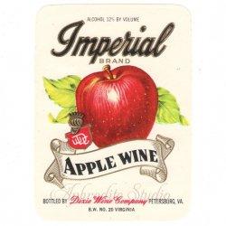 【アップル 林檎 お酒のラベル】1950年代 ヴィンテージ ラベル コラージュ、ラッピングに