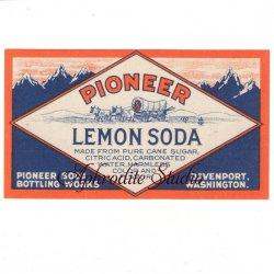 【レモンソーダのラベル】1950年代 ヴィンテージ ラベル コラージュ、ラッピングに