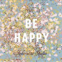 BE HAPPY 桜の花びらっぽい 1枚 バラ売り 33cm ペーパーナプキン stewo