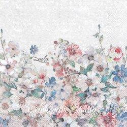 Suela ROSA お花 1枚 バラ売り 33cm ペーパーナプキン Ambiente