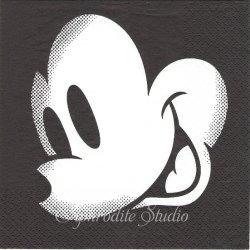 ディズニー ミッキーマウス ビッグフェイス キャラクター 1枚 バラ売り 33cm ペーパーナプキン Disney